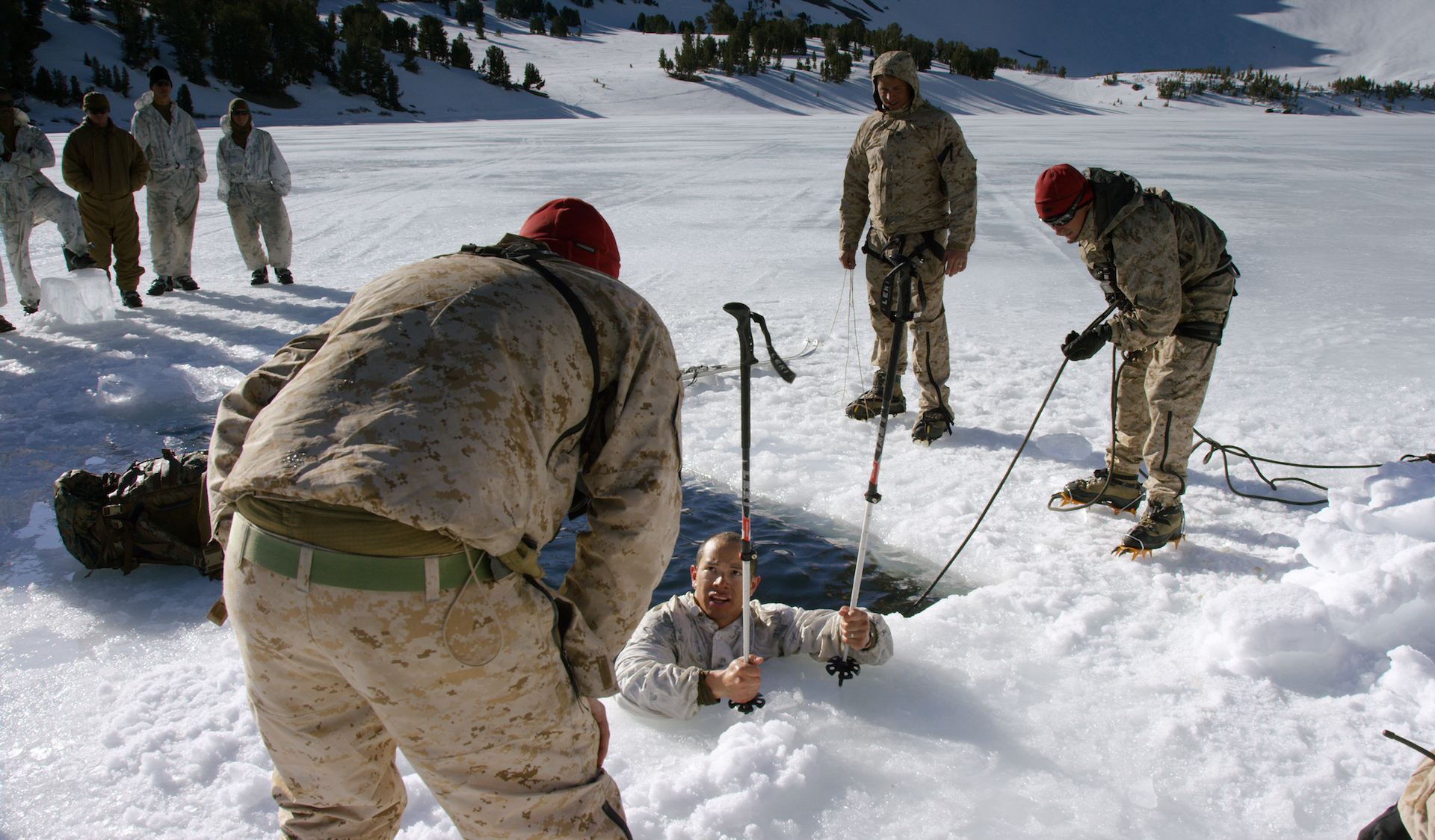 Harsh Weather Training in the Sierra Nevadas – MacGillivray
