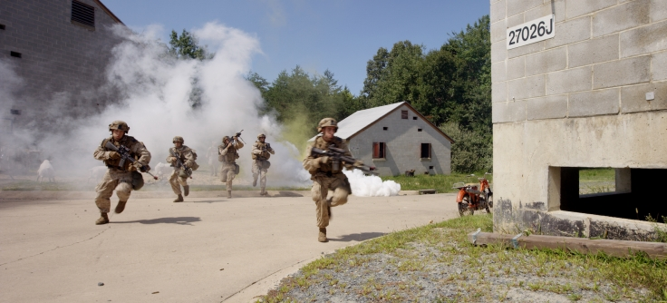 Combat Training in Twentynine Palms – MacGillivray Freeman's